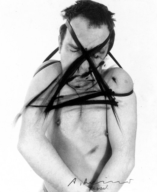 Arnulf Rainer (奥地利1929-)摄影作品集1 - 刘懿工作室 - 刘懿工作室 YI LIU STUDIO